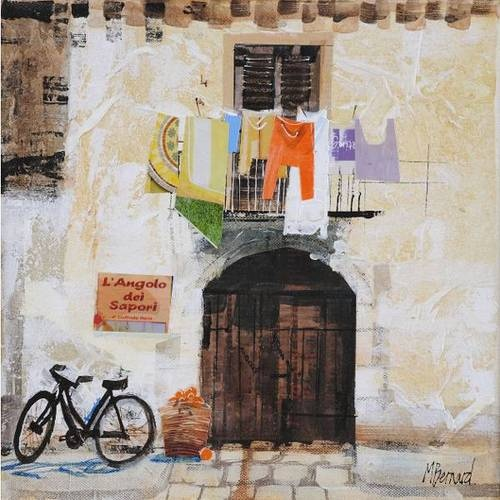Doorway and Washing Mike Bernard, (1957-)