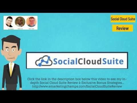 Check out this exclusive review of the Social Cloud Suite and Traffic Fusion and learn about the advantages and dis-advantages of this product -- LinkedIn Marketing --- http://emarketingchamps.weebly.com/social-cloud-suite.html