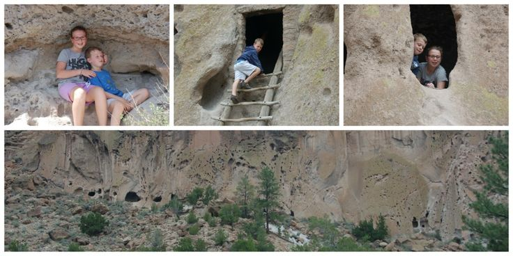 Bandelier National Monument: explore ancient Pueblo ruins, including cave dwellings, in a stunning canyon and mesa landscape. The Main Loop trail is perfect for families.