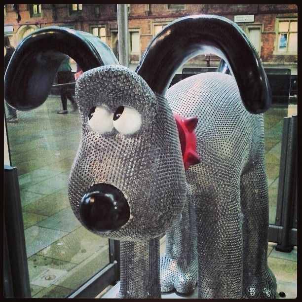 Gromit - diamond geezer!