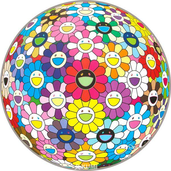 Flower Ball (Multicolor) in 2020 Takashi murakami