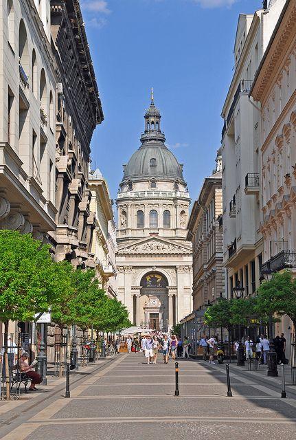 St. Stephen's Basilica, Varhegy, Budapest - Hungary