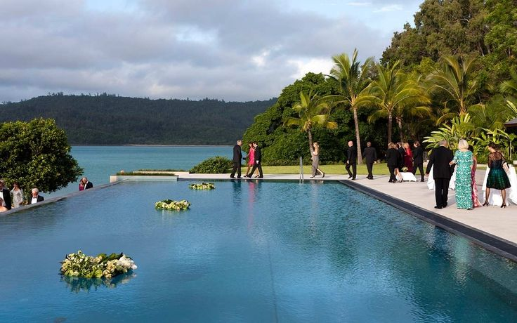 The 14 Most Incredible Places To Get Hitched In Oz  //  Qualia Resort, Hamilton Island, Queensland