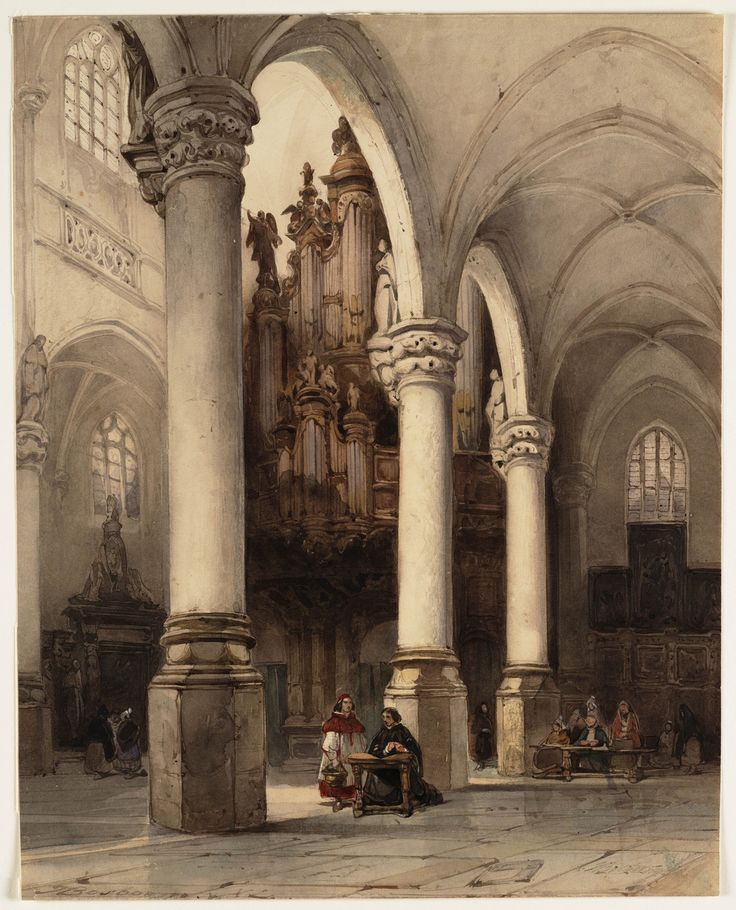 518 best dutch flemish painting houses and cathedrals for Horemans interieur