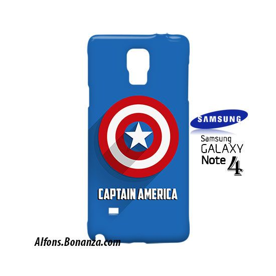 Captain America Logo Samsung Galaxy Note 4 Case