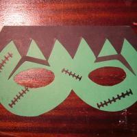 Cómo hacer una máscara de Frankenstein