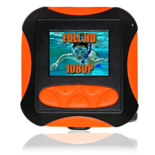 Full HD1080P Waterproof Camera and Camcorder. www.Tech-Gadgets.com