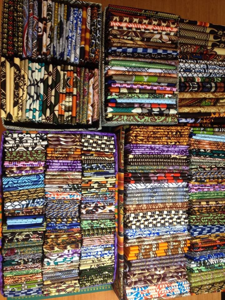 Telas africanas para la feria de artesanía de Cuenca 13 y 14 de junio
