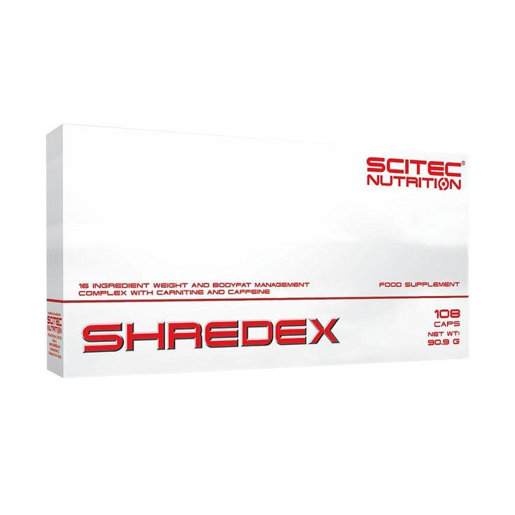 A Loja das Proteínas apresenta o Suplemento Desportivo Shredex da Scitec Nutrition  SHREDEX é um complexo estimulante de controle de peso e gordura corporal. Contém 16 ingredientes, incluindo L-Carnitina, Ácido Hidroxicítrico (HCA) proveniente de extrato de Garcinia Cambogia, e Epigallocatechin gallate (EGCG) de Chá Verde e que podem contribuir para o controle do peso corporal, gordura corporal e sensação de forme. SHREDEX contém Crómio que contribui para o metabolismo normal dos…