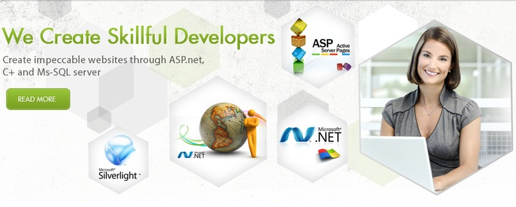 Thinking big in web development? Microsoft .Net is the best bet. Click on the image to know more.