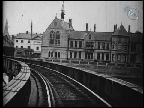 View from an Engine Front - Barnstaple (1898)