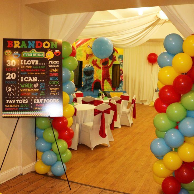 We Heart Parties: Brandon's Sesame Street theme 1st Birthday!?PartyImageID=3cb1b46b-edbf-4e05-9110-10768ede2049
