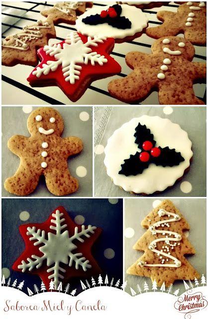 Saborea Miel y Canela: Christmas Cookies (Galletas de Navidad)