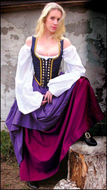 женская одежда эпохи Возрождения