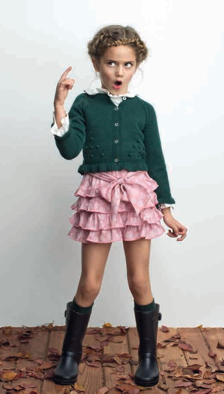 .Don't be fooled. It's not because I wear a pink ruffle skirt that I am a good little girl