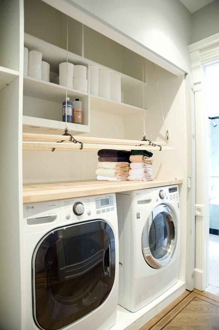 De wasruimte bijkeuken pinterest clothes dryer maids and dryers - Outs wasruimte ...