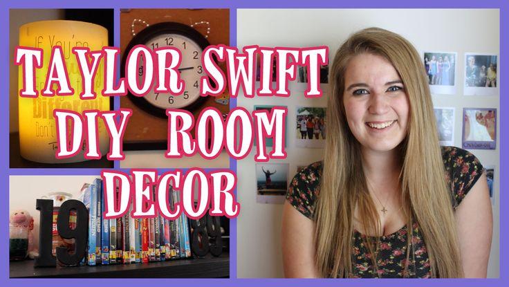 DIY Taylor Swift Room Decor   BowsByCarolyn