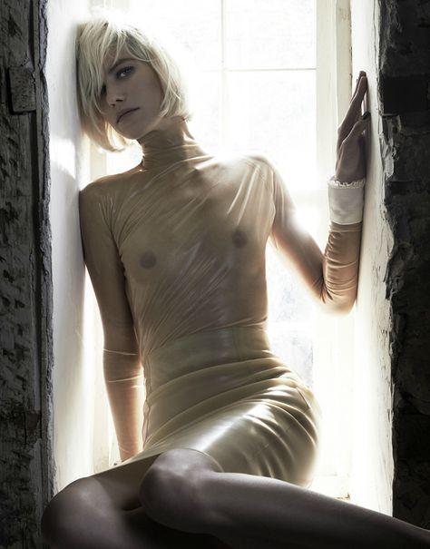 noirfacade: Of Human Bondage | Delfine Bafort by Kate Orne for Dansk #26 Fall/Winter 2011