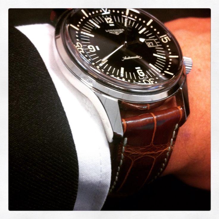 Longines Legend Diver >> Longines Legend Diver Abp atelier du bracelet parisien | orologi | Pinterest