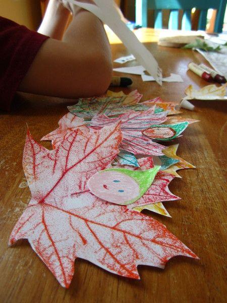 Our Ash Grove-leaf garland LOVE