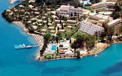 Louis Corcyra Beach Hotel, Gouvia, Corfu, Greece http://www.robinhoodflights.co.uk/destinations/corfu
