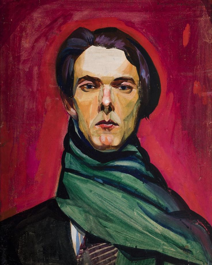 Self Portrait  Zygmunt Waliszewski 1922  This IS NOT Benedict Cumberbatch.It's Zygmunt Waliszewski a Polish painter a member of the Kapist movement. The Kapists or KPists (the Polish acronym for the Paris Committee) also known as the Colourists were a group of Polish painters of the 1930s who dominated the Polish art scene. Contrary to Polish romanticist traditions the Kapists underlined the independence of art from any historical tradition symbolism or influences of literature and history…
