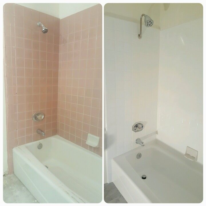 Get Rid Of Those Outdated Pastel Colors Fast And Inexpensively. Donu0027t  Replace, · Bathtub ReglazingHome RemodelingBathroom RemodelingPastel ...