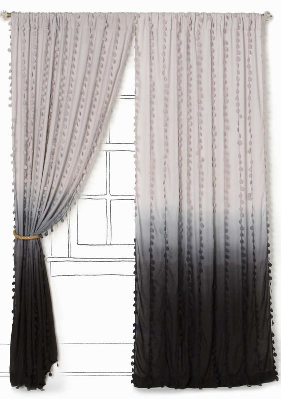 My next project ombre curtains for my bedroom. This will definitely be nice in my new bedroom.