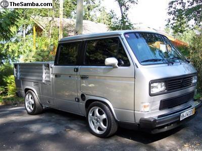 Silver VW Doka
