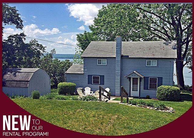 Seneca Lake Vacation Rentals: Classic Cottage | Finger Lakes Rentals | Lakeside Seneca Lake Rentals