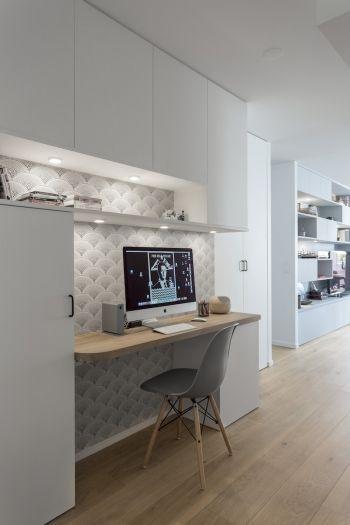 les 25 meilleures id es de la cat gorie coin bureau sur pinterest petit bureau de chambre. Black Bedroom Furniture Sets. Home Design Ideas