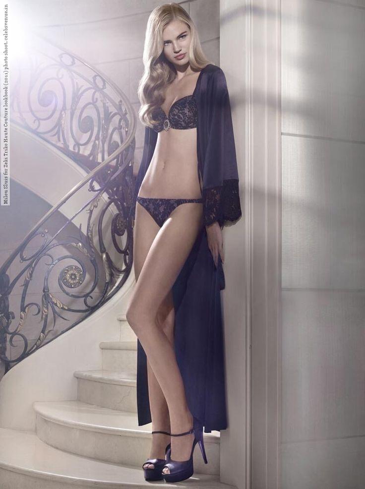 Milou Sluis for Zeki Triko Haute Couture lookbook (2011) photo shoot #HauteCouture, #MilouSluis, #ZekiTriko #Lookbook