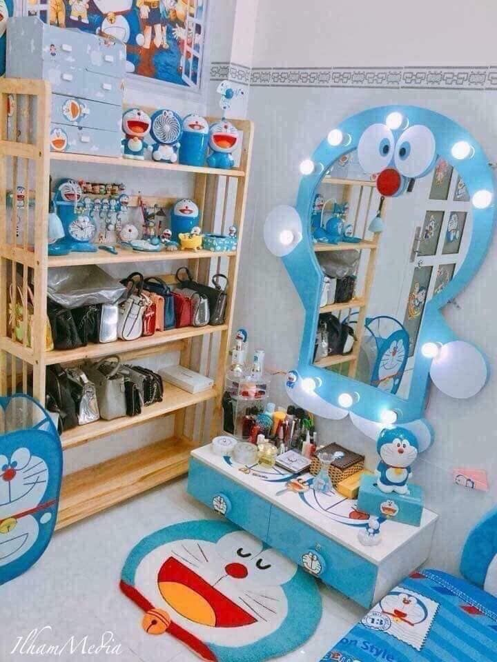 Pin By Erchui On Kiến Truc Doraemon Wallpapers Doraemon Cartoon Doraemon New small doraemon room kamar