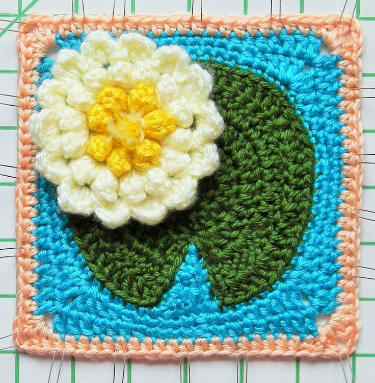 17 Best Images About Crocheted Lilly Ponds And Lillys On