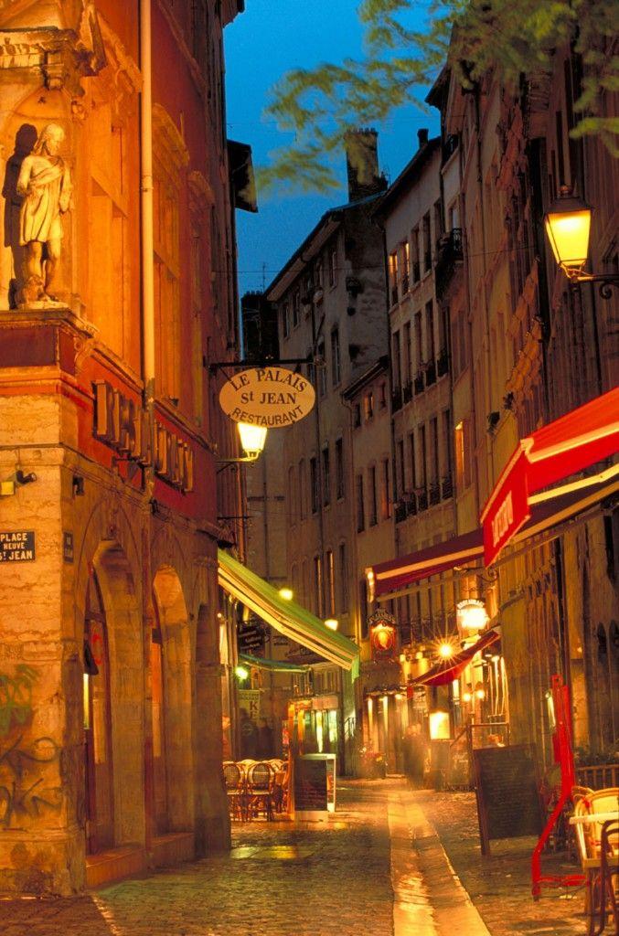 Pedestrian Street, Lyon, France