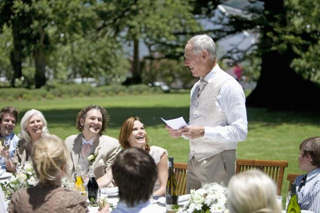 These successful wedding speeches for the father of the bride can either be used as is or give ideas for crafting your own father of the bride speech.
