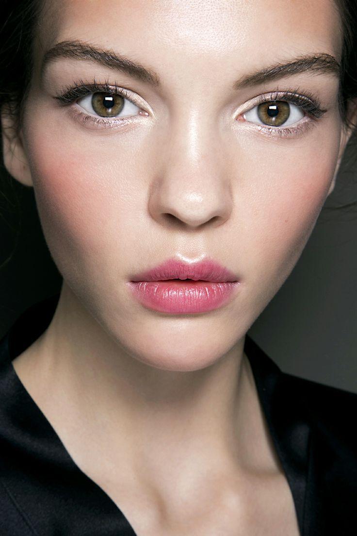 radiant fuchsia lips and cheeks / Dolce and Gabbana SS2014