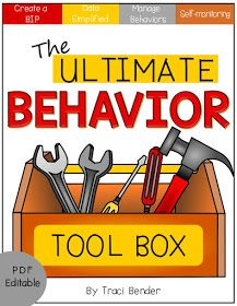 behavior plan, BIP, classroom management, behavior, classroom ideas, behavior kit, behavior support, managing behaviors, difficult behaviors,