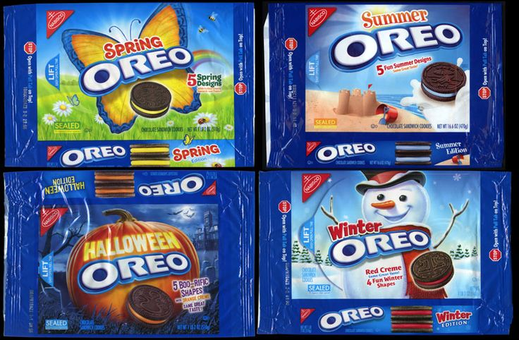 Oreo A Cookie For All Seasons Oreo Cookie Http Www