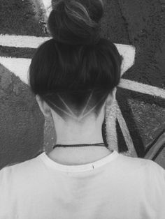 long hair female undercuts - Google Search