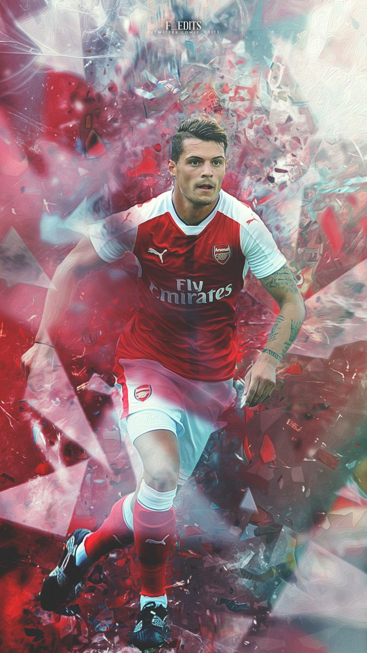 Granit Xhaka. Lock screen.