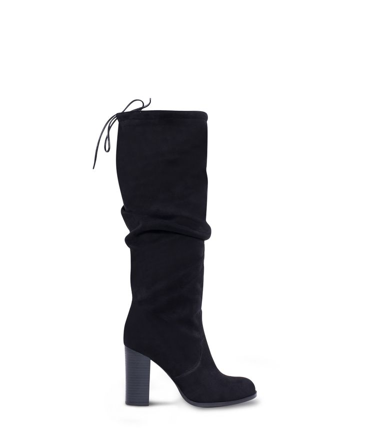 SANTE heeled boot is always cool! Black