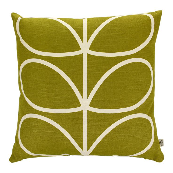 Would love mix of these cushions on the sofa... Orla Kiely Linear Stem Apple Cushion