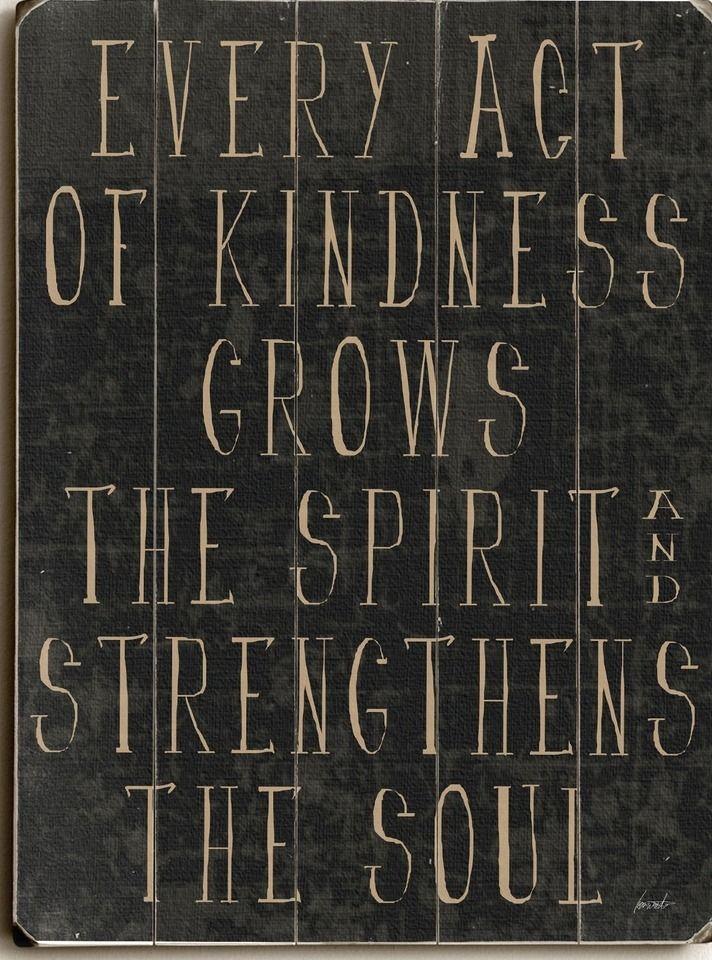 Hur många vänliga handlingar kan du klämma in idag ??