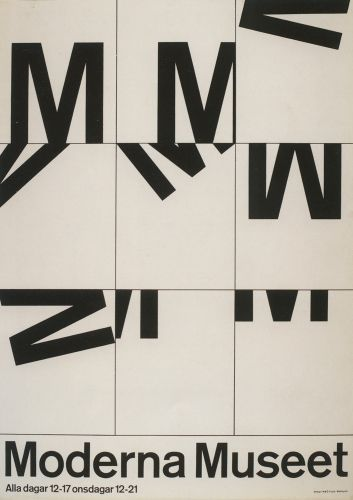 """In the 1950's, whilst creative director of advertising agency Svenska Telegrambyrån in Malmö Sweden, Swedish graphic designer John Melin (1921–1992) alongside Anders Österlin (born 1926) forged a highly conceptual approach to the treatment of posters, publications and gallery pr..."