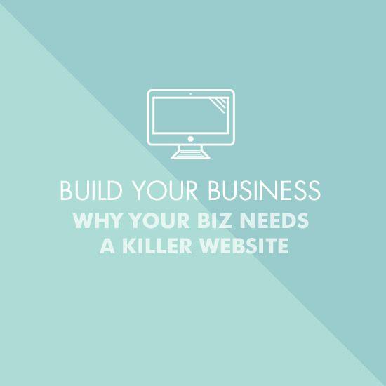 why your business needs a killer website, portfolio, creative entrepreneurs, women entrepreneurs, betty red, betty red design,