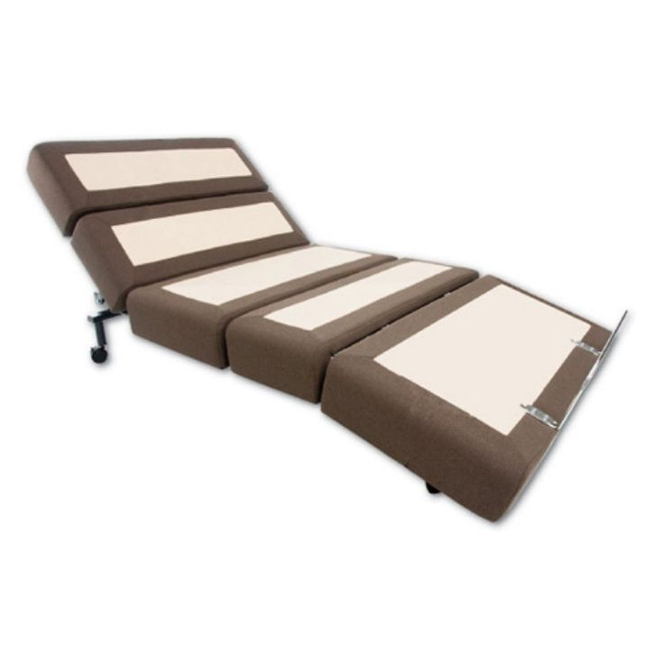 RIZE Contemporary Adjustable Bed with Wireless Remote, Size: Twin XL