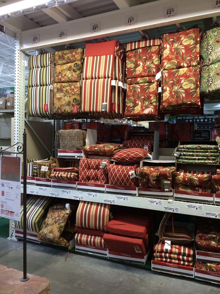 Menards #3171   2014 Outdoor Furniture Cushions #pillows #design #colors  #trends