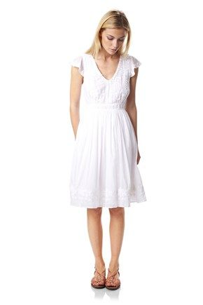 Annie Embroidered Dress - New Arrivals - French Connection Usa