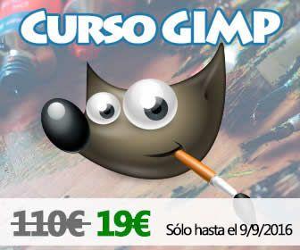 http://www.gimp.org.es/ Curso de Gimp 10 horas de vídeo tutoriales por 19€